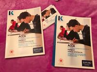 BRAND NEW ACCA F7 FINANCIAL REPORTING KAPLAN BOOKS