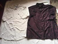 Mens Shirt bundle, 2 Shirts Size XXL, Used £5