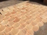 roof tiles (wooden)