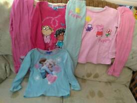 Girls pj size 3-4 years 6 items incl. Next