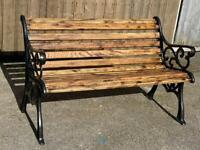 Victorian style garden benches