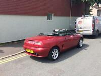 Mg convertible rear wheel drive
