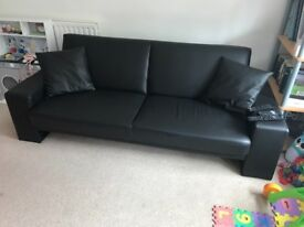 Leather sofa 6 months old