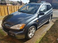 Cheap Ssangyong Kyron.. Very clean, Service History.. Bargain!!