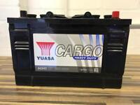 643HD 12V 96Ah 620A Yuasa Cargo Heavy Duty Car Battery