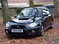 2004 Subaru Impreza WRX Turbo SL, Metallic Black, Leather Interior, Sunroof, Great Condition