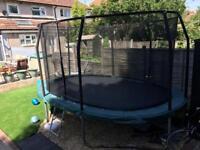 Large jump king trampoline
