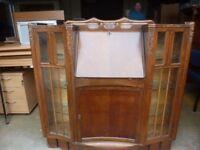 Bureau Dark wood Display Delivery Available lg