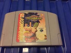 Nintendo 64 mystical ninja game. N64