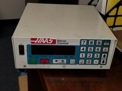 Used Haas Sc01 Brush Style Servo Control Box Red Single 4th Axis Sigma 1 Rotary