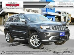 2014 Jeep Grand Cherokee SUMMIT DIESEL ENGINE ! IT HAS ALL TOYS