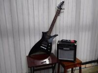 Electric Cruiser Guitar by Crafter plus Amp Drive CD100