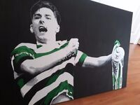 Kieran Tierney canvas Celtic