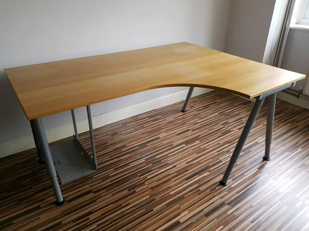 Ikea Large Desk Light Wood
