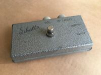 Schaller Fuzz Guitar Pedal Rare - 1968-72. Made in Germany.