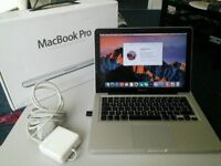13 Macbook Pro i5 2.5 Ghz 4GB 120GB SSD Ableton Reason Audition Logic Pro X Serato Traktor Warranty