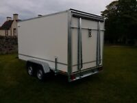 Twin axle box van trailer twin axle with brakes - Full EU Only £3000 + vat