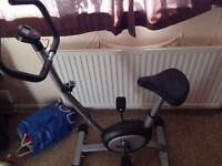 exercise bike like new hardly used in brilliant condition