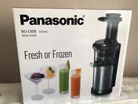 Panasonic MJ-L500SXC Slow Juicer