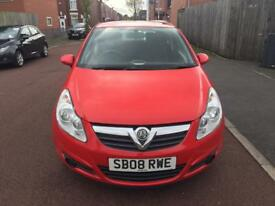 Vauxhall corsa 1.0L Patrol One Owner year 2008 millege 62000