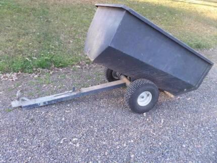 Ride on Mower trailer.   Small quad bike trailer