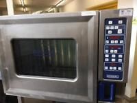 Hobart combi commercial oven 6 grid with stand