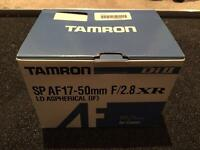 Tamron 17-50mm 2.8 lens for Canon