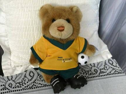 RACQ Careflight Bear - Soccer Bear