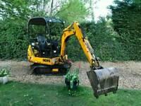 1999 JCB 801 1.5 Ton Mini Digger 2920 HRS