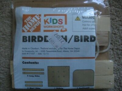 Home Depot Kids Workshop Birdbath/Birdfeeder Kit New Home Depot Bird Feeders