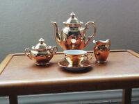 1950's Gold German Coffee Set