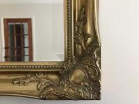 GOLD COLOURED HOUSE OF FRASER MIRROR