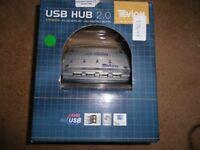 USB HUB 2.0. BOXED. UNUSED