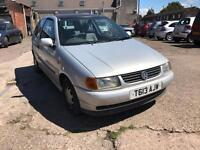 VOLKSWAGEN POLO 1.4 LONG MOT SILVER PETROL 1390CC 60BHP NATIONWIDE DELIVERY **BARGAIN***