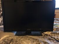 . selling brznd new 22inch tv Hitachi. Has dvd player too. Comes with remote