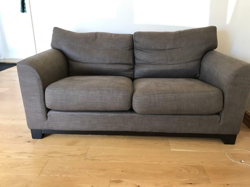 Grey Brown 3 seater sofain Whitley Bay, Tyne and WearGumtree - Collection only from Monkseaton. Great sofa grey/ brown in colour seats 3 adults Must go ASAP