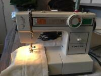 Toyota fully serviced sewing machine