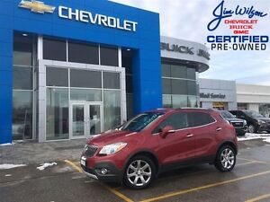 2014 Buick Encore Leather 2 SETS OF TIRES AND RIMS HEATED STEERI