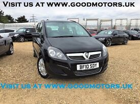 2010 Vauxhall Zafira Life 1.7CDTi EcoFlex 7Seats*FSH+Cac-Belt done*AC*Radio CD/MP3*Alloys*Read me...
