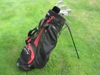 Callaway stand-carry bag with full set Taylormade golf clubs