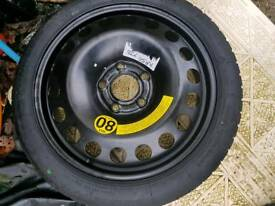 Vauxhall brand new space saver wheel