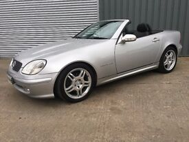 2001 MERCEDES SLK 200K TIP AUTOMATIC ***FULL YEARS MOT*** similar to audi bmw 911 sls