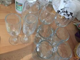 Plates/glasses only £2 for all