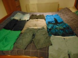boys clothes, size 30 ,carboot,joblot,cheap,bundle,clothes,shorts size 30,carboot nr 1,gifts,present
