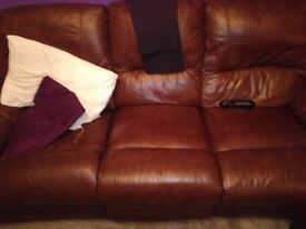 3 seater recliner coich for sale