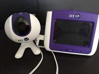 BT wirelesss baby video camera monitor 7000