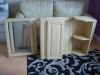 11 Kitchen unit doors & corner wall unit