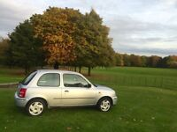 Nissan Micra 2002 1.0 Petrol Silver VERY LOW MILAGE 57k FSH 3Dr Brand New Tyres not Polo Ibiza Yaris