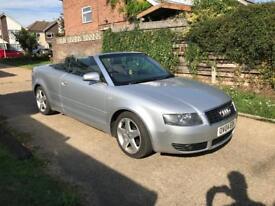2004 Audi A4 Convertible 2.4 6 speed *FSH, cheap convertible*