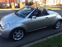 FORD STREETKA 1.6 ICE CONVERTABLE 71000 MILES 2006 MODEL